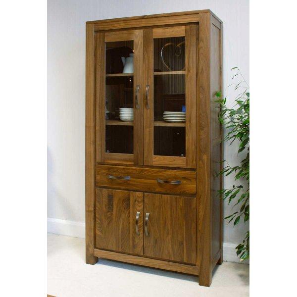 Baumhaus CWC01D Mayan Walnut Large Bookcase