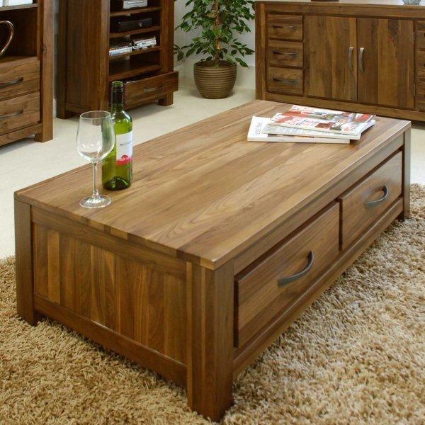 Baumhaus CWC08B Mayan Walnut Coffee Table