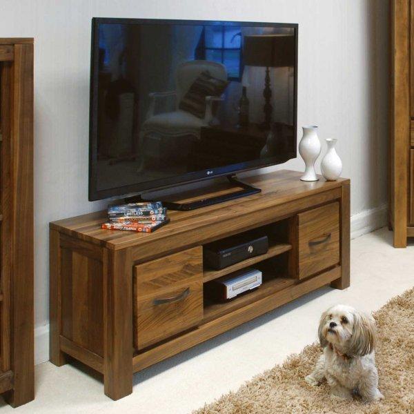 Baumhaus CWC09A Mayan Walnut TV Cabinet