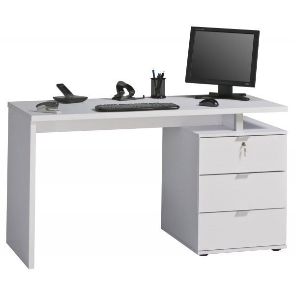 Maja 4056-3956 Victoria White Computer Desk Workstation