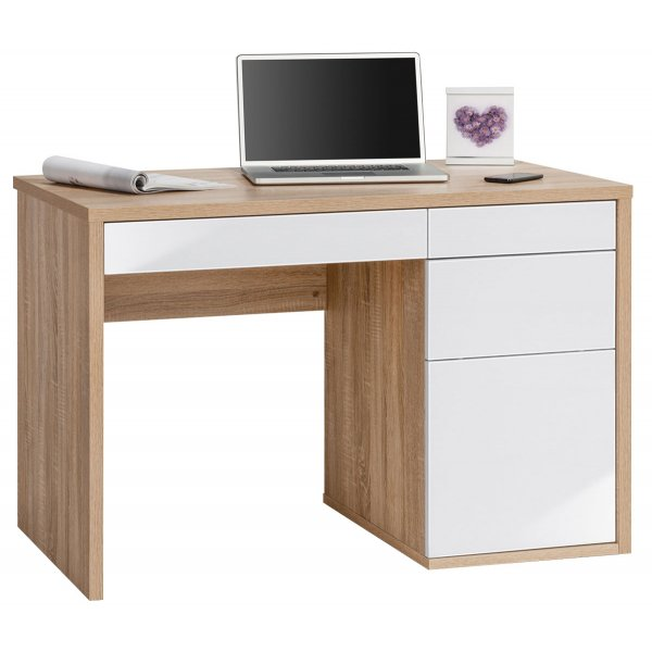 Maja Club Oak & White Computer Desk
