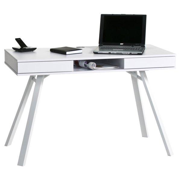 Maja Chelsea White Laptop Desk