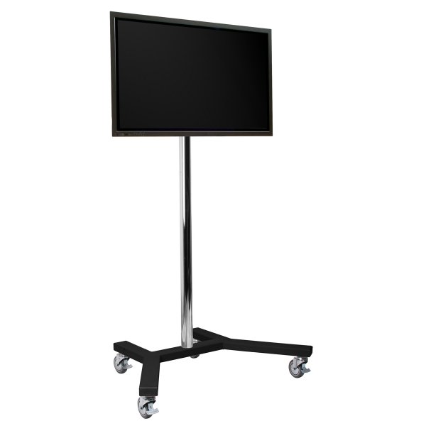 "B-Tech 1.5m Trolley Stand for up to 65"" TVs"