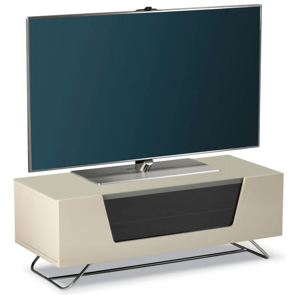 "Alphason Chromium 1000 Ivory TV Stand for up to 50"" TVs"