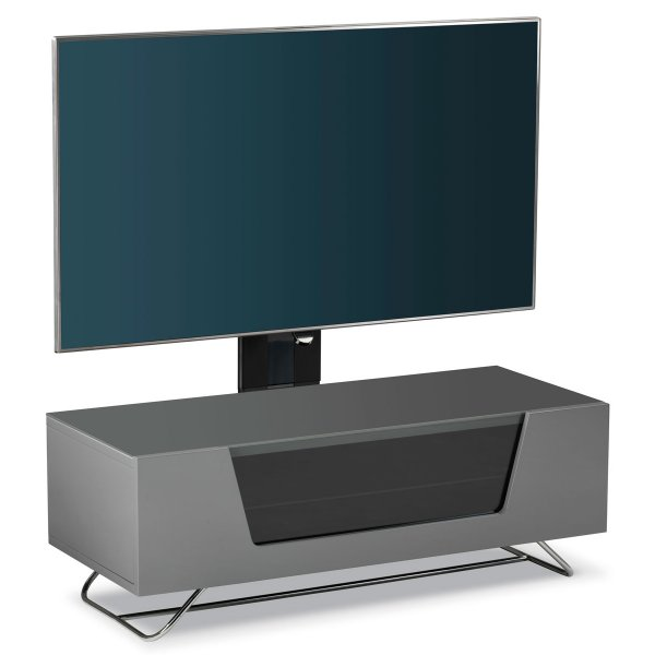 Alphason Chromium 1000 Grey Cantilever TV Stand