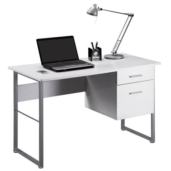 Alphason Cabrini AW22226-WH White Desk