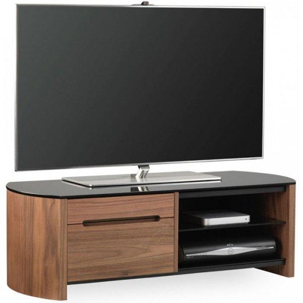 Alphason FW1100CB Walnut Veneer TV Stand