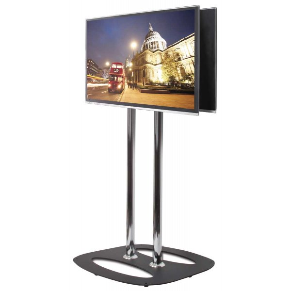 Flat Screen Back-to-Back Display Stand - 1.5m