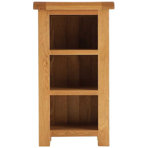 Ultimum Oakham Narrow Oak Bookcase
