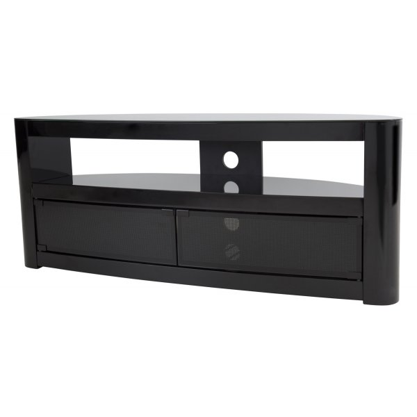 AVF Burghley FS1250 Piano Black TV Stand