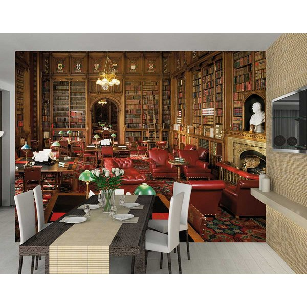 1Wall Giant House of Lords Library Wall Mural