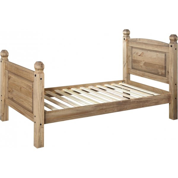Core Products CR300 Classic Corona Single Bed Frame - Rustic Pine