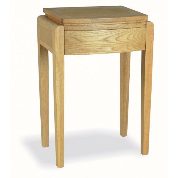 Ultimum Alnwick Oak UA04 Tall Lamp Table