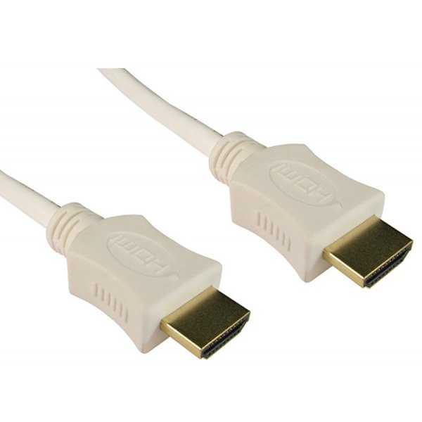 ValuConnect White 3m HDMI Cable with Ethernet