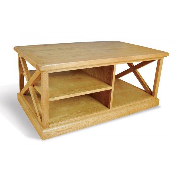 Ultimum Somerset Oak Coffee Table 120 x 70