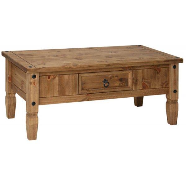 Core Products CR902 Classic Corona Coffee Table - Rustic Pine