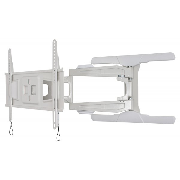 B-Tech BT8221/W Ultra Slim Double Arm Cantilever TV Bracket - White