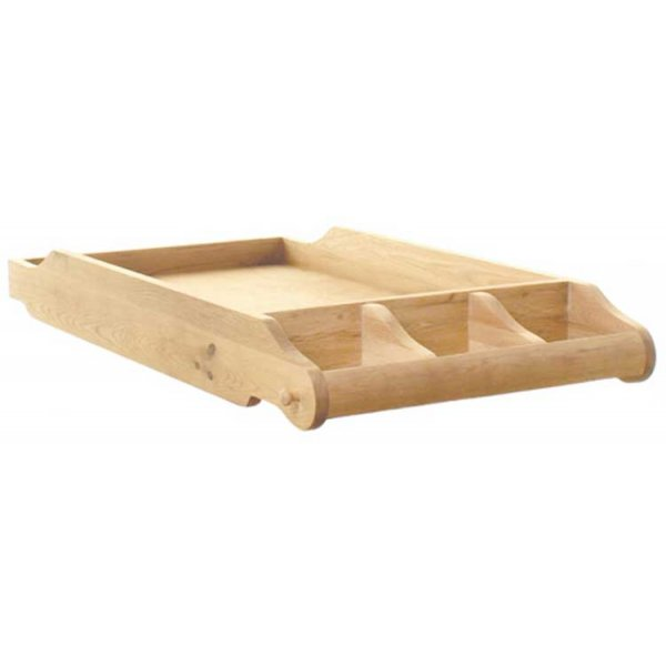 Baumhaus Amelie Oak CCO14A Cot Bed Top