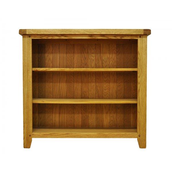 Ultimum Highfield Small Wide Oak Bookcase