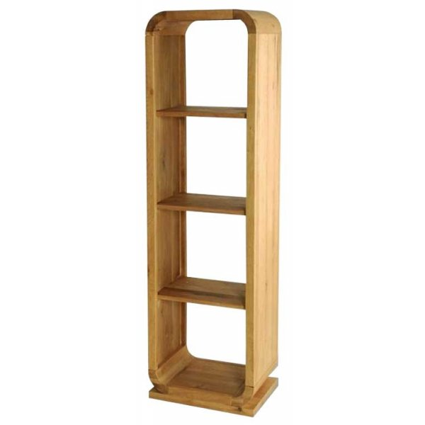 Ultimum Durham Oak UD40 Open Back Shelving Unit
