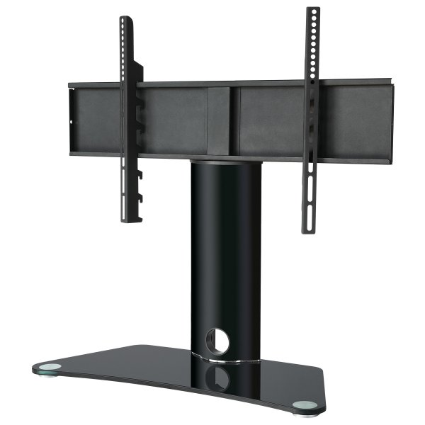 "Ultimate Mounts UM401 Universal Table Top TV Stand with Swivel for 37""- 65\"" TVs"