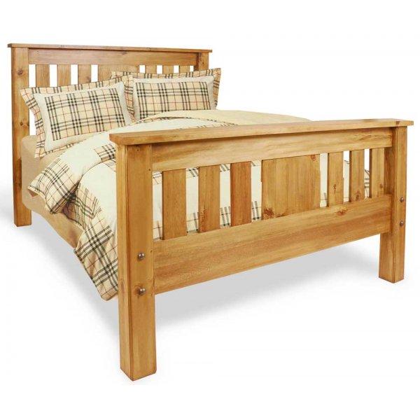 Ultimum Classic Pine 4\'6 Panel Bed