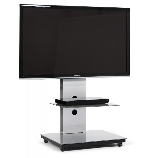 Spectral Tray PX601 Silver Cantilever TV Stand
