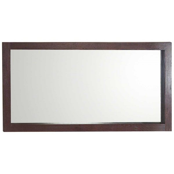 Ultimum Riviera Dark Oak Wide Wall Mirror