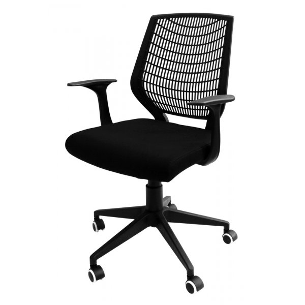 Alphason Pace Black Executive Chair