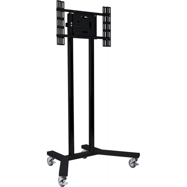 """B-Tech BT8504/BB Large Flat Screen Display Trolley Stand for TVs up 65\"""""""