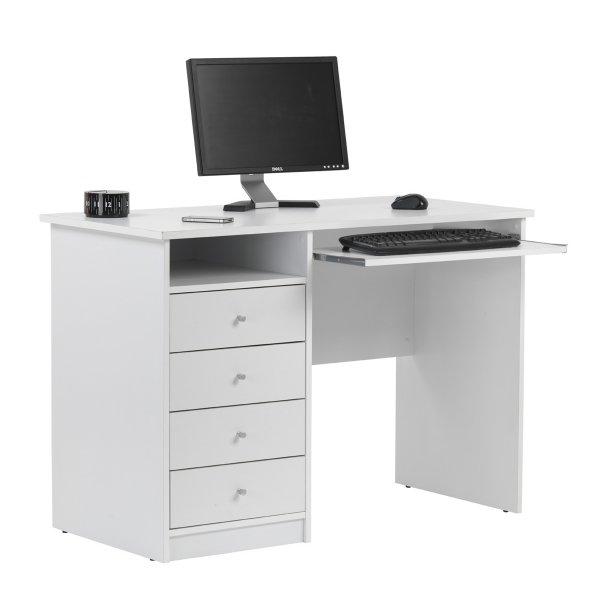 Alphason Marymount AW22813-WH White Desk