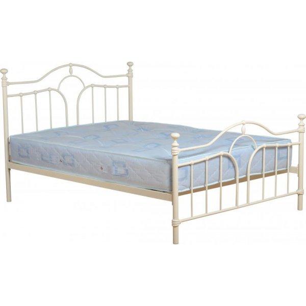 ValuFurniture Keswick Cream Double Bed