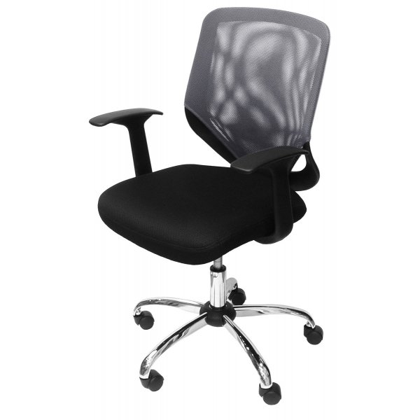 Alphason Atlanta Grey Operator\'s Chair