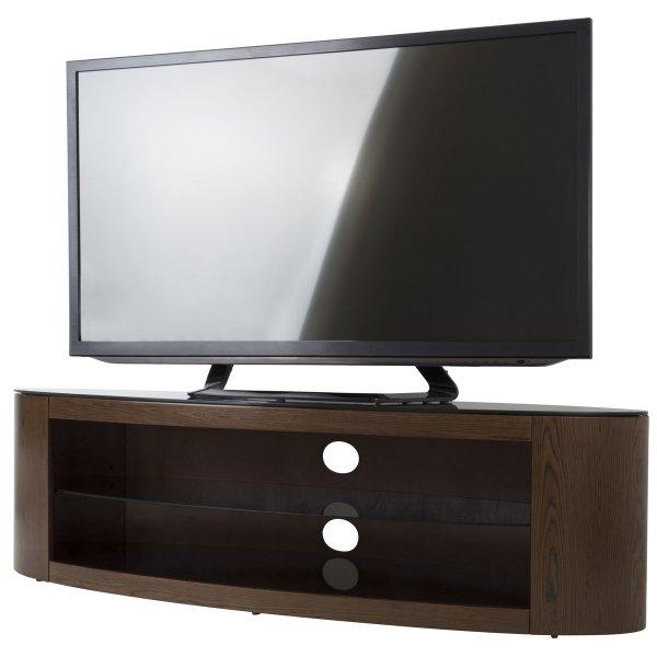 """AVF Buckingham FS1400BUCW Walnut TV Stand for up to 65\"""""""