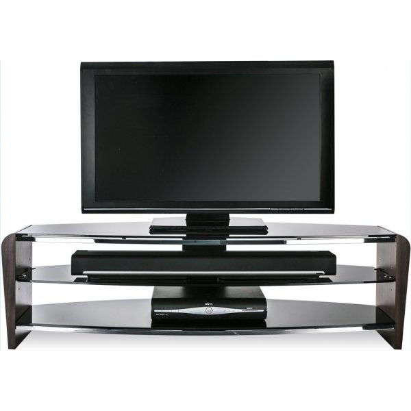 "Alphason Francium 1400 Walnut TV Stand for up to 65"" TVs"