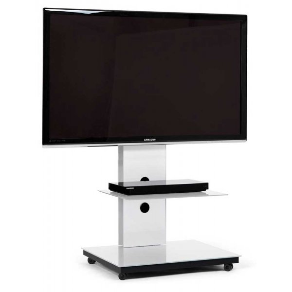 Spectral Tray PX601 White Cantilever TV Stand