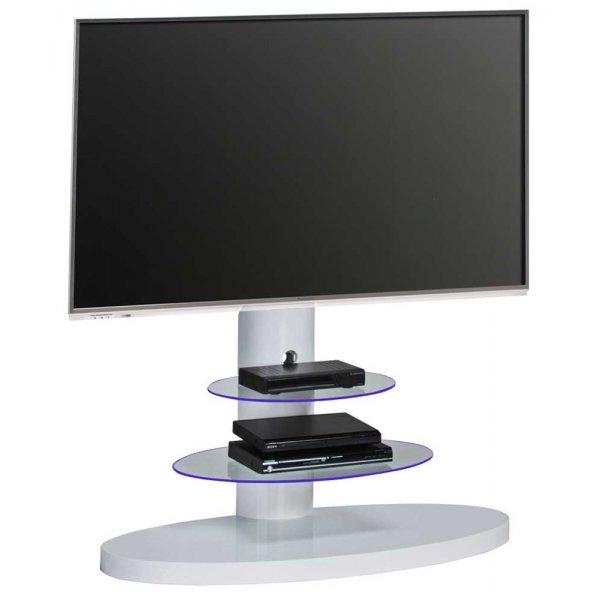 Maja 1636 White Cantilever TV Stand