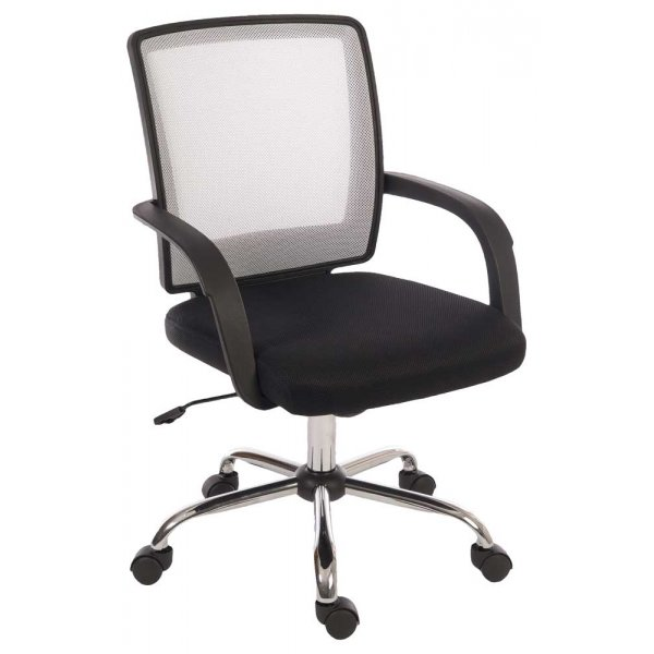 Teknik Star Mesh Black & White Office Chair
