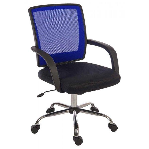 Teknik Star Mesh Black & Blue Office Chair