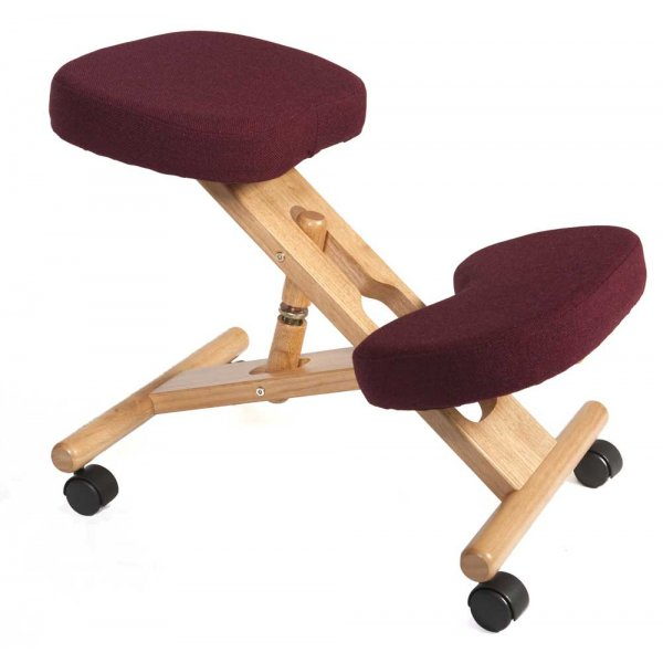 Teknik Kneeling Burgundy Office Chair