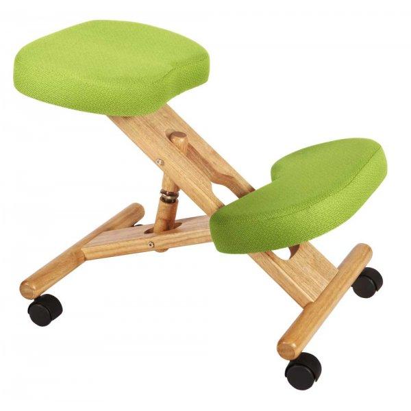 Teknik Kneeling Lime Green Office Chair