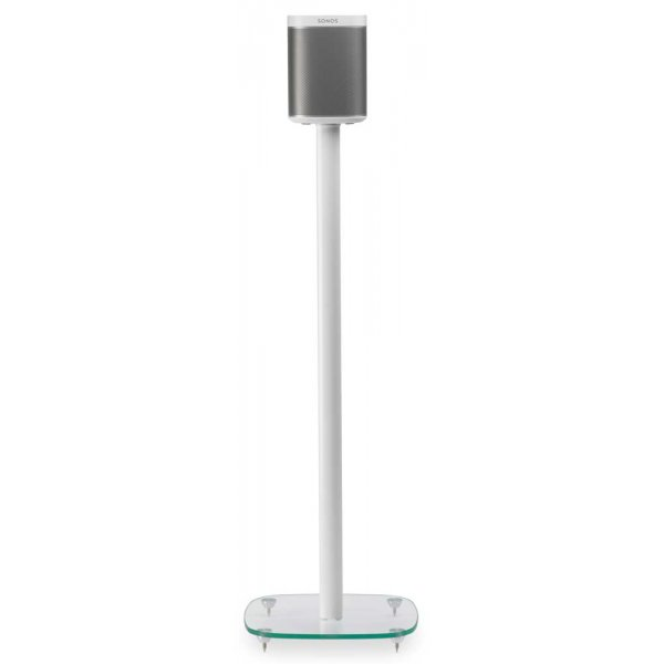 Alphason Play1 White Speaker Stand