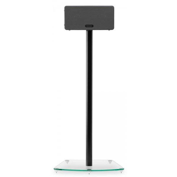 Alphason Play3 Black Speaker Stand