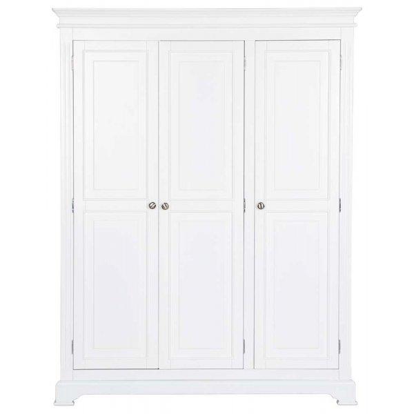 Ultimum Royal Elegance White Triple Wardrobe