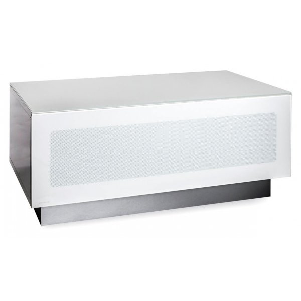 """Alphason Element Modular 850 White TV Stand for up to 37\"""" TVs"""