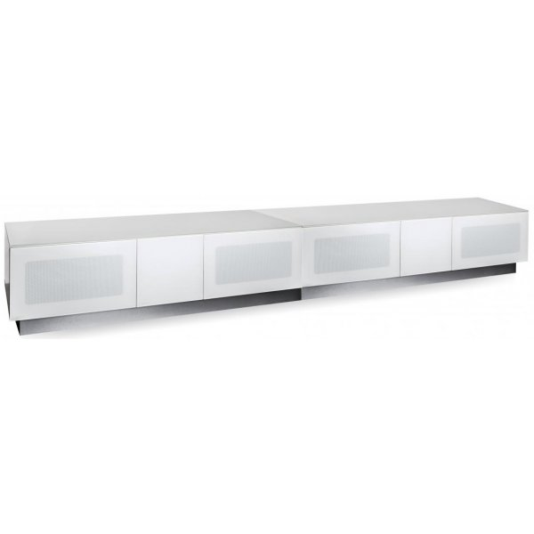 "Alphason Element Modular 2500 White TV Stand for up to 110"" TVs"