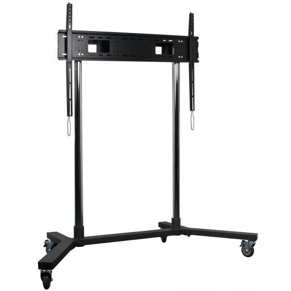 "B-Tech Extra Large Flat Screen Display Trolley Stand For Over 65"" TV\'s"
