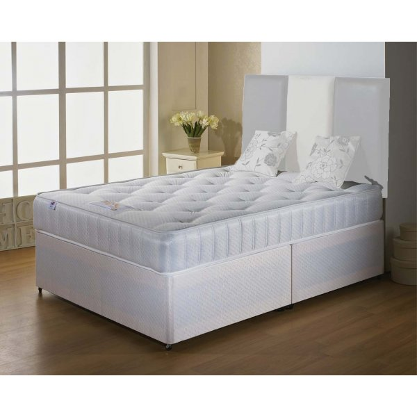Luxan Classic Double Size Bed Set - No Headboard - No Drawers