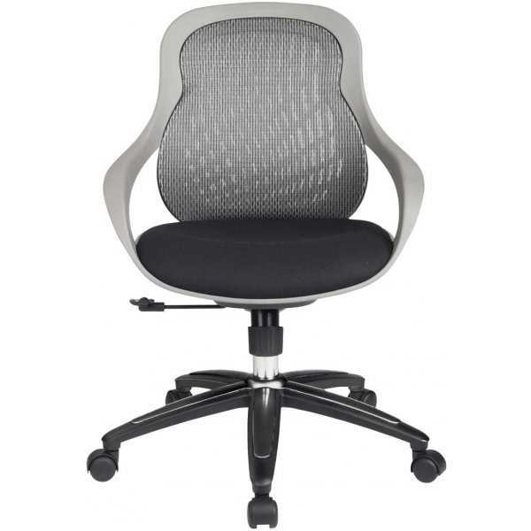 Alphason Croft Mesh Back Designer Chair - Grey