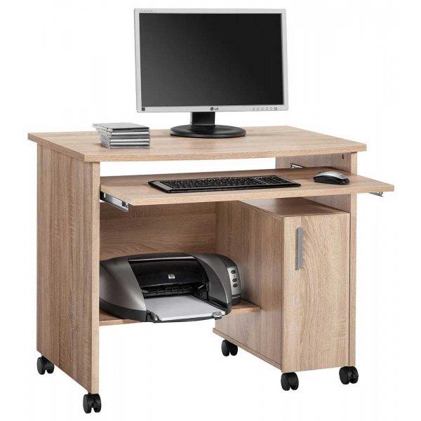 Maja 4035 5525 Websurfer Mobile Workstation with Castors - Sonoma Oak